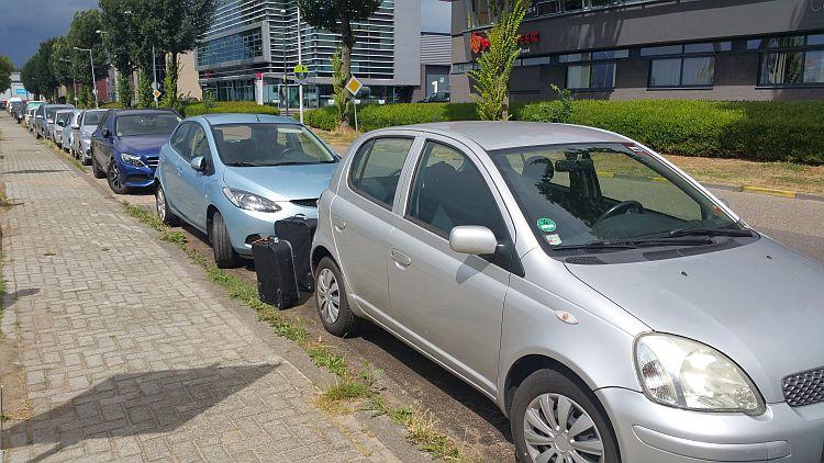 Kostenloser Parkplatz Amsterdam Noord im TT Vasumweg
