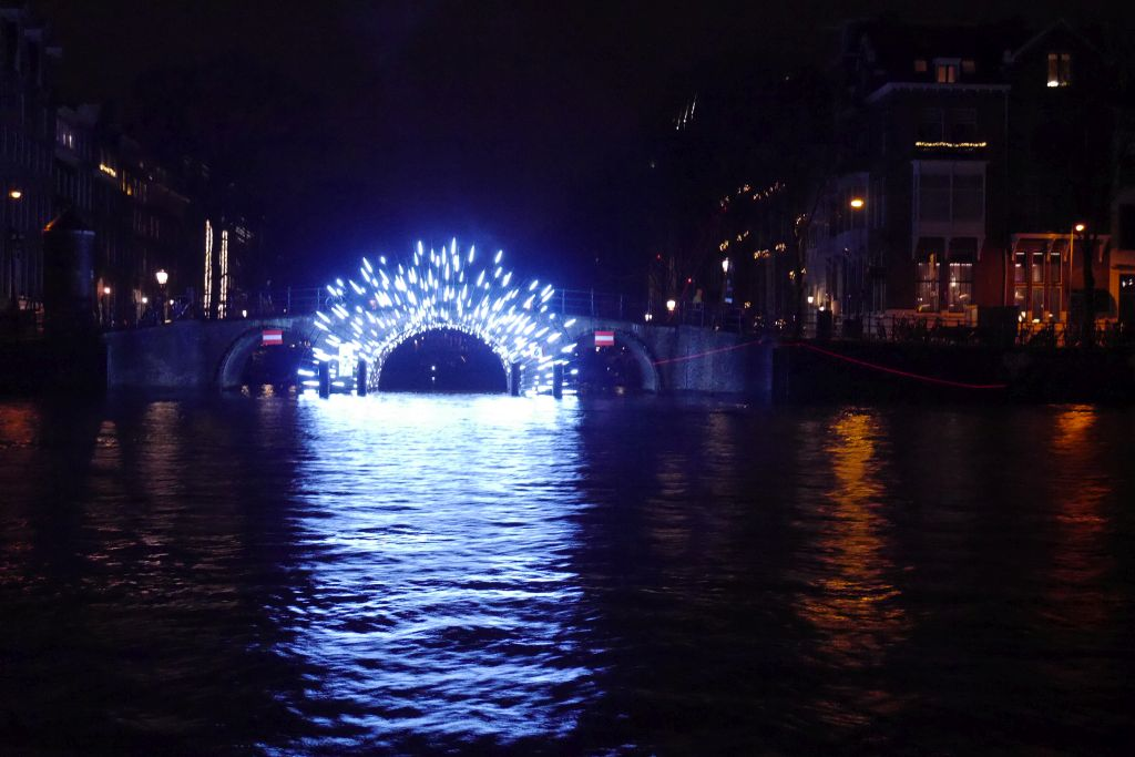 Leuchttunnel Herengracht Amsterdam Light Festival 2017 2018