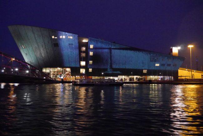 NEMO Leuchtturm Amsterdam Light Festival 2018