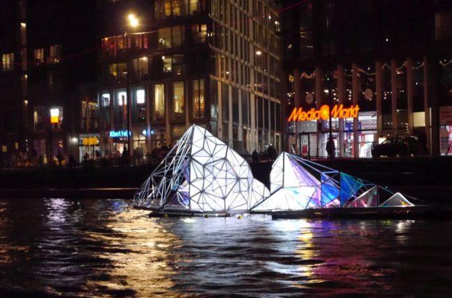 Light Festival Amsterdam 2017 2018 Eisberg