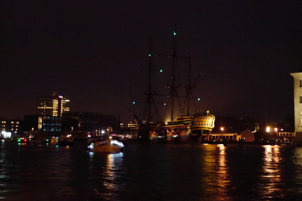 Amsterdam Light Festival VOC Ship De Amsterdam