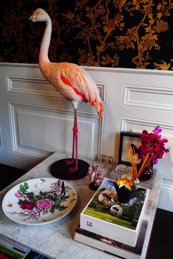 Lobby Villa Nicola Amsterdam B&B