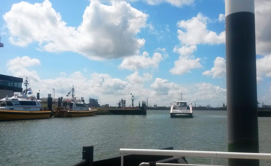 Anleger Berghaven Fast Ferry Hoek van Holland