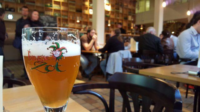 Brugse Zot Bier Brouwerij De halve Maan