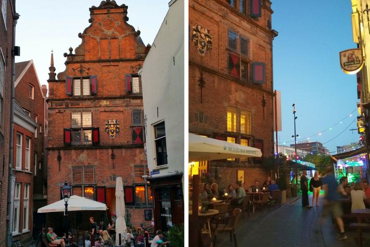 Altstadt Nijmegen abends