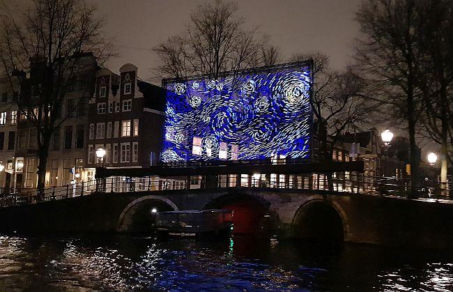 Van Gogh Bild Amsterdam Light Festival 2018 2019