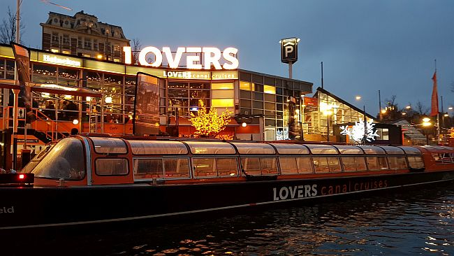 Canal Cruise Boats Lovers Amsterdam