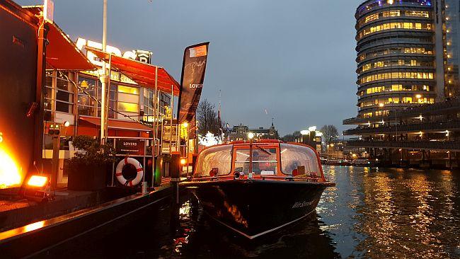 Boote Reederei Lovers Amsterdam Light Festival