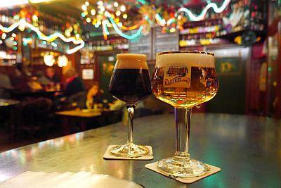 Kneipe De Grendelpoort Bier