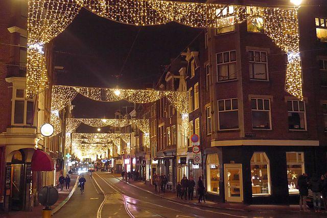 Utrechtsestraat Amsterdam Christmas Lights