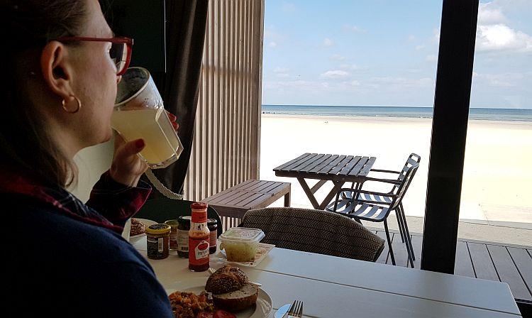 Strandhaus Kijkduin Aussicht