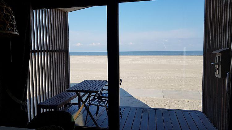 Aussicht Veranda Strandhaus Kijkduin