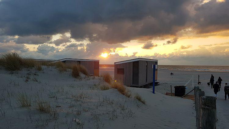 Kijkduin Strandslag 2a Sonnenuntergang