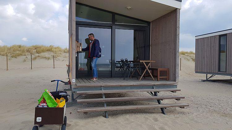 Bollerwagen Strandhaus Kijkduin