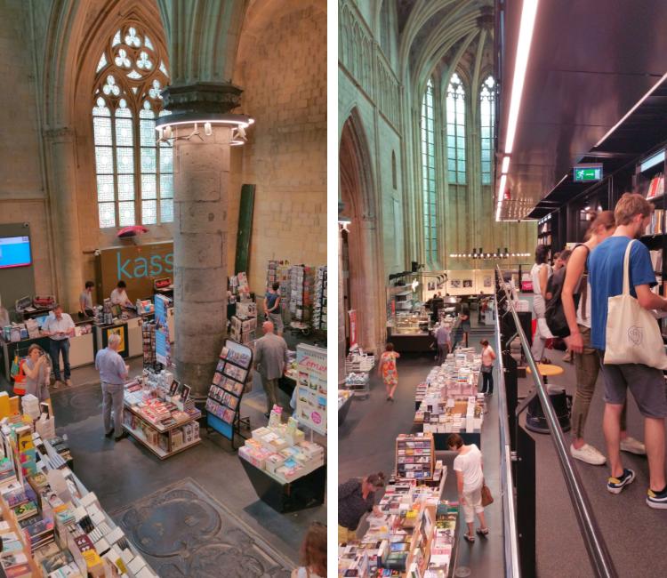 Kirche Maastricht Buchhandlung