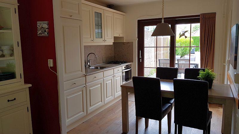 Küche Ferienhaus Beaufort Cadzand Bad