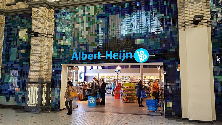 Supermarkt Holland Albert Heijn Leeuwaarden