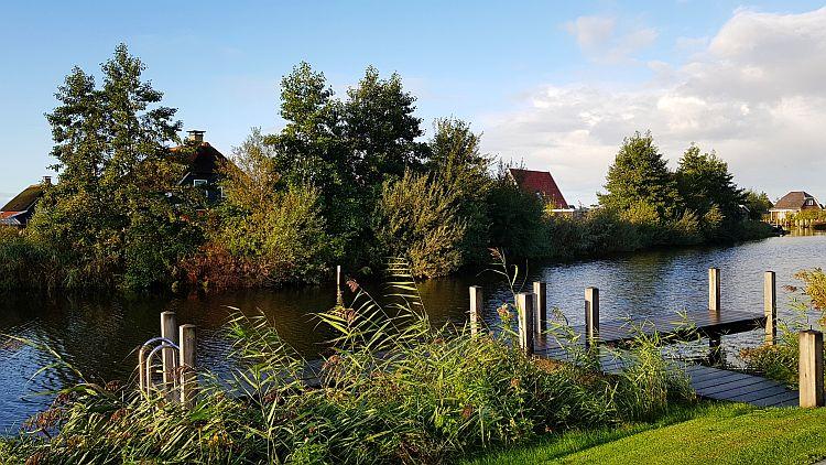 Ferienhaus mit eigenem Bootsanleger Giethoorn Bodelaeke