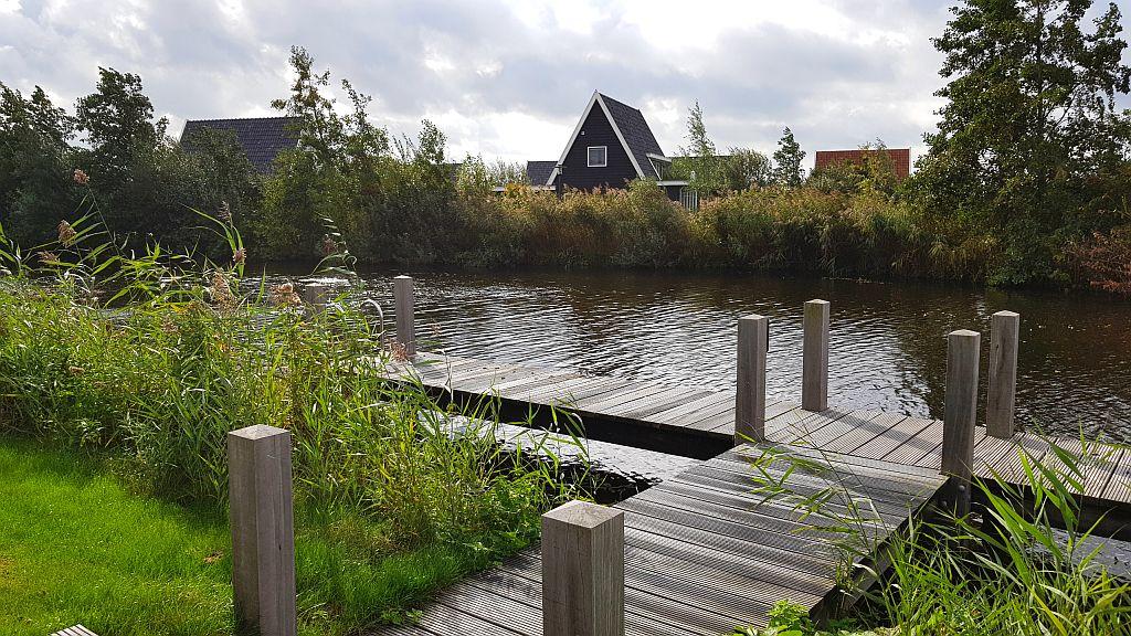 Ferienhaus Giethoorn Riethaus 514 direkt am Wasser