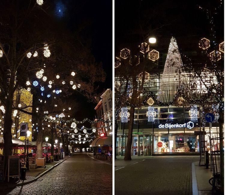 Bijenkorf Maastricht im Winter