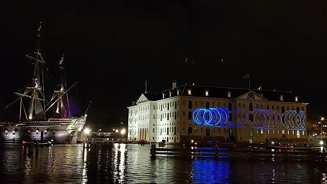 Lichtfestival Amsterdam 2019 2020 Schiffahrtsmuseum