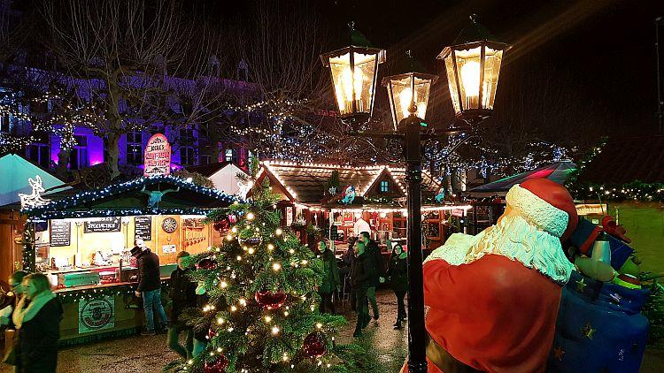 Weihnachtsmarkt Maastricht im Winter