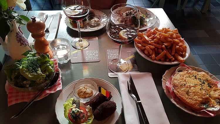 Restaurant Witloof Maastricht Essen