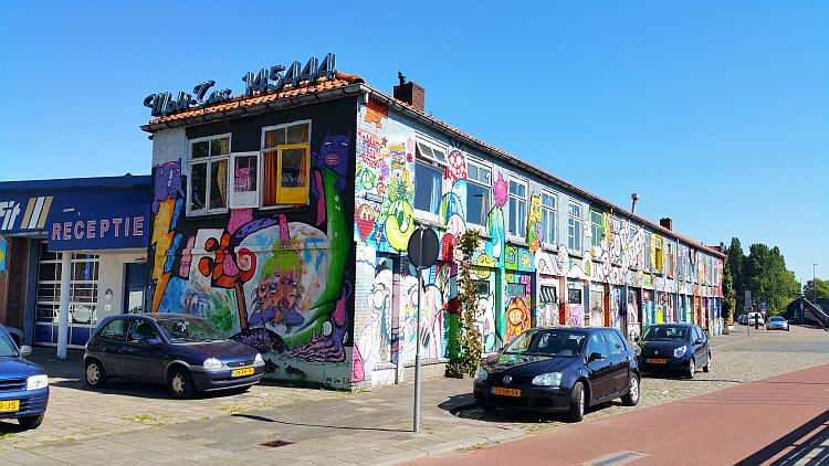 Street Art Hertogenbosch Havendijk