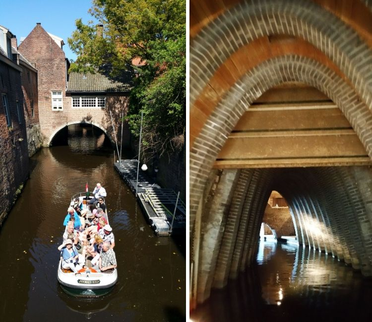 Bootstour Den Bosch Binnendieze Tunnel