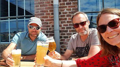 Bier trinken De Buren