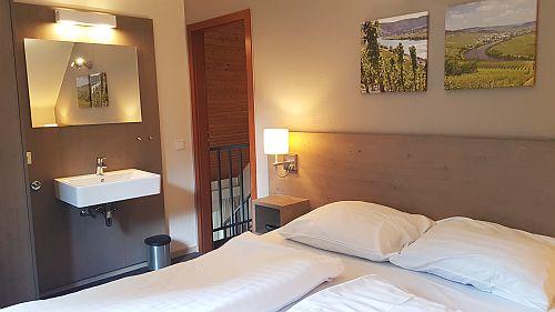 Schlafzimmer Mont Royal Ferienhaus